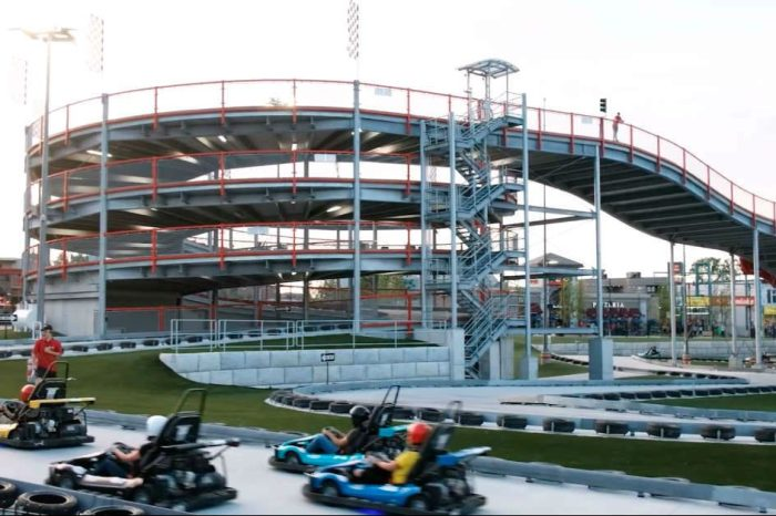 Fans of Mario Kart Will Love This New Go-Kart Track in Canada