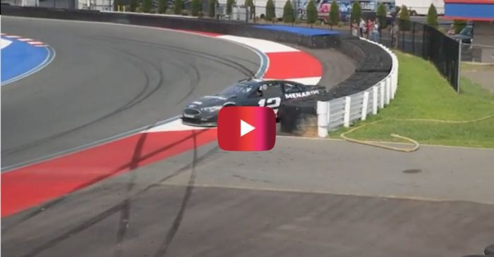 [WATCH] Crash After Crash After Crash Goes Down at Charlotte Roval