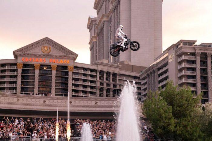 Travis Pastrana Recreated 3 Iconic Evel Knievel Stunts in Las Vegas Tribute Show