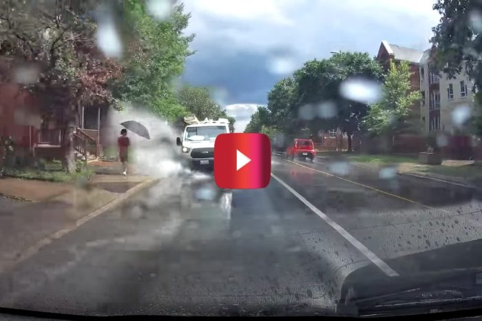 Van Driver Gets Fired for Purposely Splashing Pedestrians