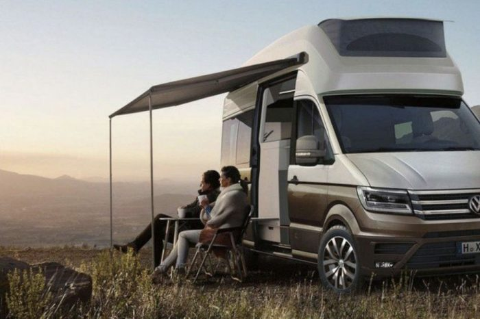 This Volkswagen Camper Van Takes Family Vacations to the Next Level