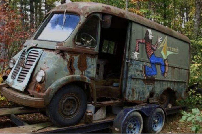 Iconic Aerosmith Tour Van Discovered After Being Hidden for Decades