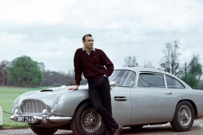 James Bond's Aston Martin DB5 Is the Most Classic Movie Car of All Time