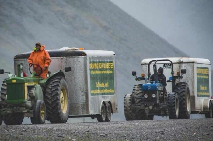 These 2 Friends Are Going on a 6,000-Mile Tractor Trek to Alaska and Back for a Fantastic Cause