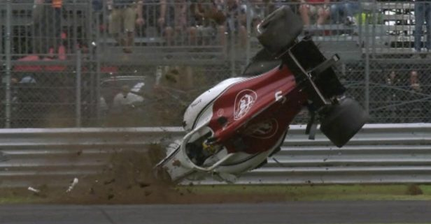 Formula One Driver Marcus Ericsson Was Somehow Unhurt After This Devastating Crash