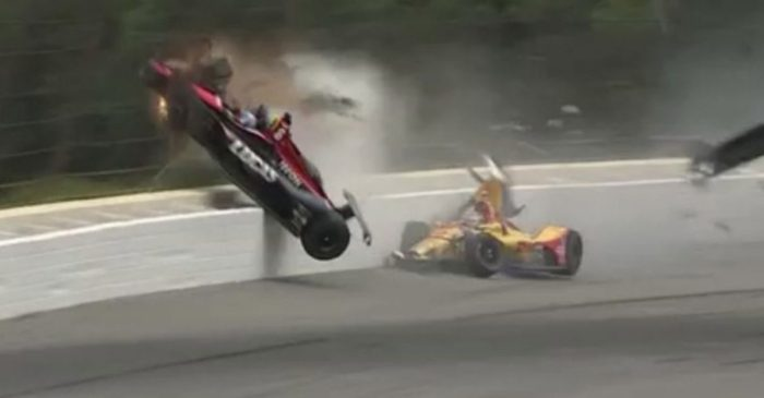IndyCar Driver Calls for Better Head Protection Following Close Call During Robert Wickens Wreck