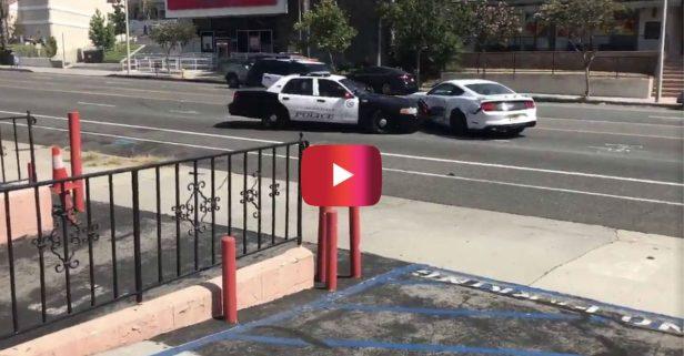 California Shoplifting Suspect Rams Police Cars in Shocking Getaway