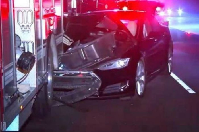 Tesla Driver Thought He Was in Autopilot Mode When He Crashed into Firetruck