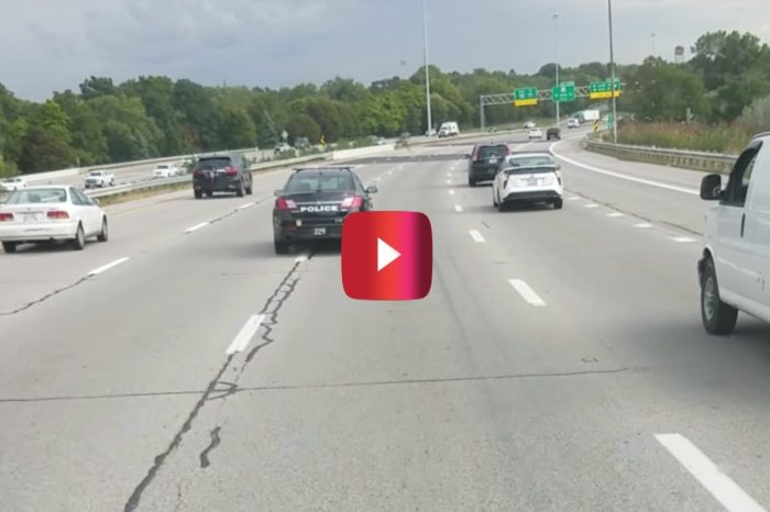 Video Proof That Even Cops Can Be Bad at Driving