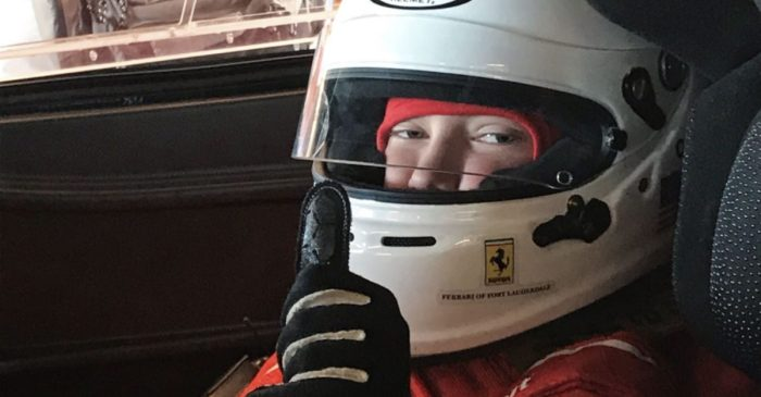 Iowa Boy with Leukemia Goes on Ferrari Ride of a Lifetime