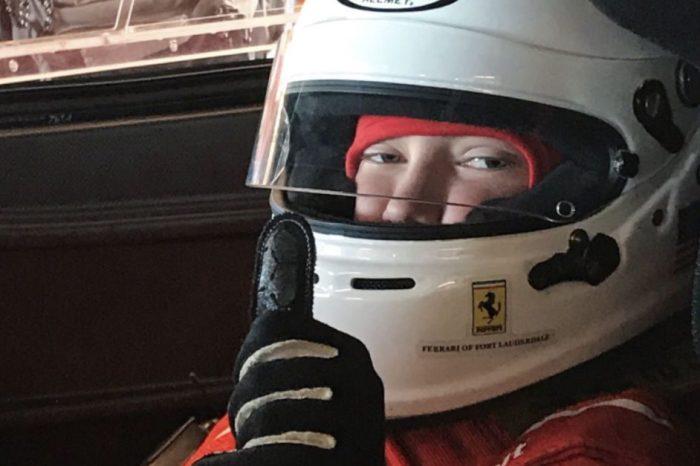 Iowa Boy with Leukemia Goes on Ferrari Ride of a Lifetime