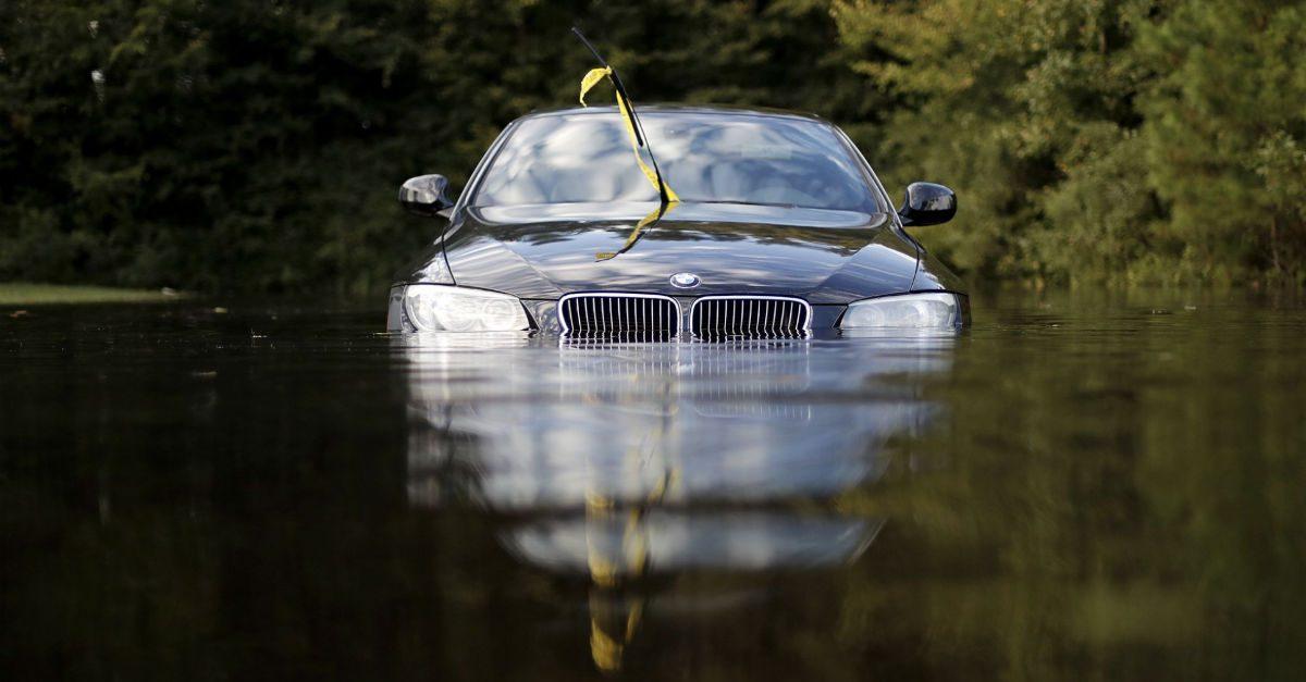 Car hurricane florence