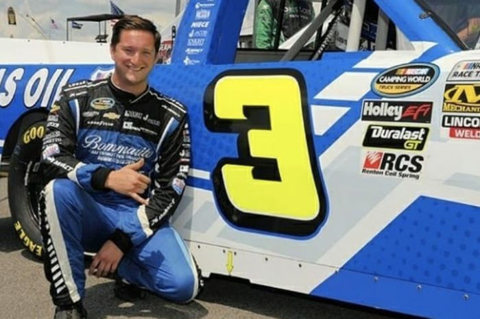 This NASCAR Driver Is Wanted for Possession of a Stolen Motor Vehicle