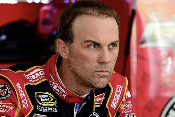 "Kevin Harvick Slams Goodyear's ""Piece of Crap"" Tires After Las Vegas Wreck"