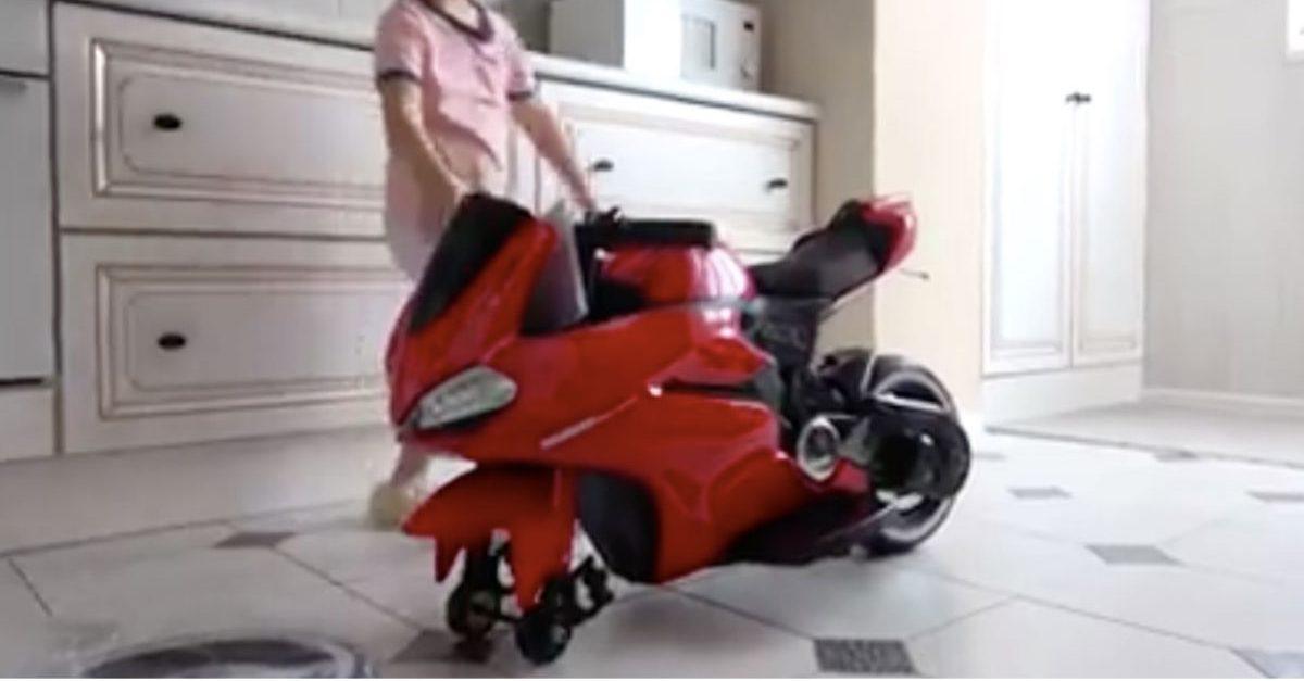 mini ducati bike