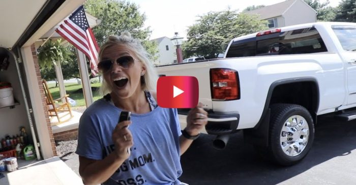 Woman Gets RUTHLESSLY Pranked by Her Husband With This Dream Truck Prank
