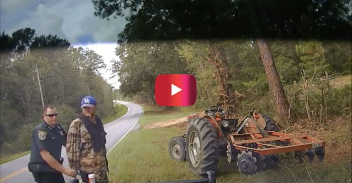 Police Dashcam Video Shows Cop Using Stun Gun on Florida Tractor Thief