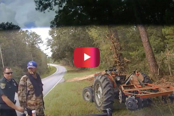 Police Dashcam Video Shows Cop Using Stun Gun on Florida Tractor Thief