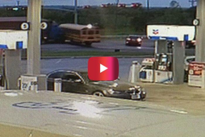 Video Shows Terrifying Scene When 18-Wheeler Crashes into Texas School Bus