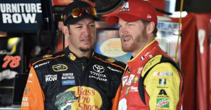 "Martin Truex Was ""Too Nice"" at Martinsville, Says Dale Earnhardt Jr."