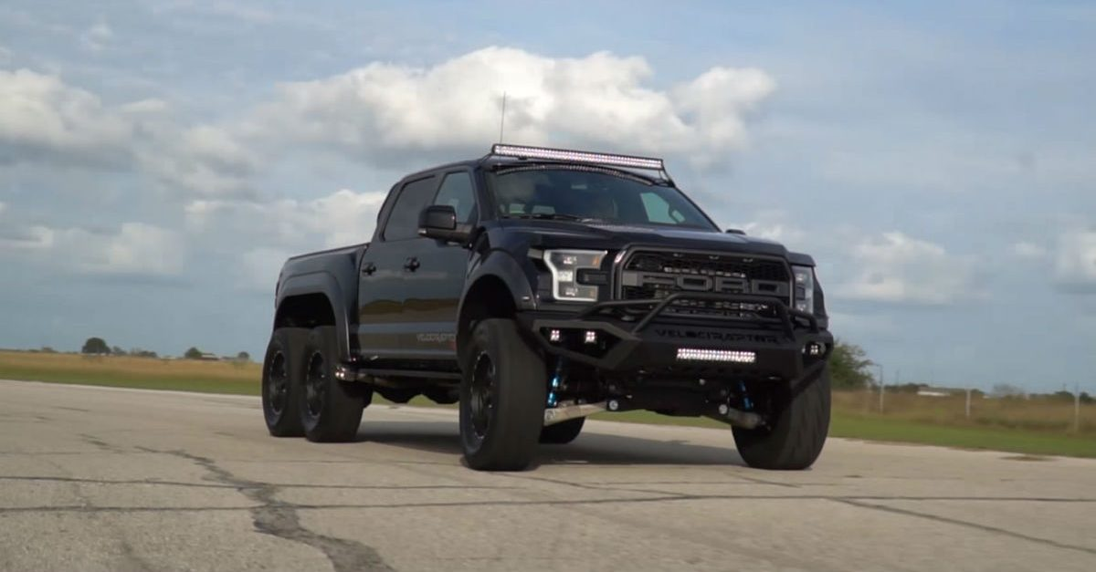 The Ford VelociRaptor 6×6 Is the Most Badass Truck on the Planet