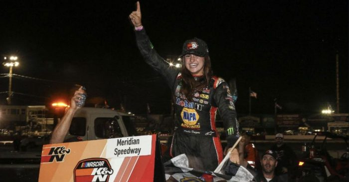 Hailie Deegan Bump-and-Runs Her Way into the NASCAR History Books