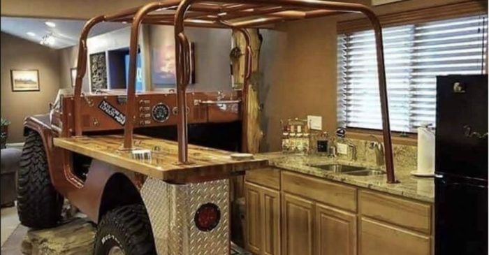 This Jeep Kitchen Setup Is About as Epic as It Gets