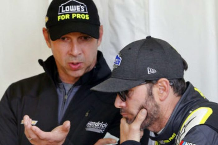 The Farewell Tour for Jimmie Johnson and Chad Knaus Begins at Talladega