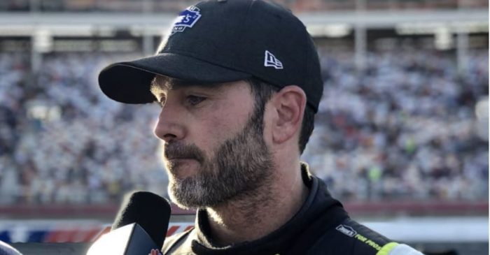 "Jimmie Johnson Was ""Shell-Shocked"" Over the Final Lap Mishap That Knocked Him out of the Playoffs"