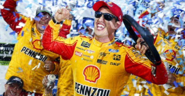 Joey Logano Bump-and-Runs Martin Truex Jr. to Snatch Shot at NASCAR Championship