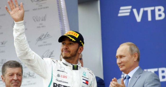 Controversial Russian Grand Prix Finish Brings up Questionable Formula One Tradition