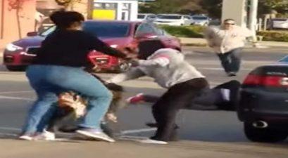 off-duty cop breaks up brawl