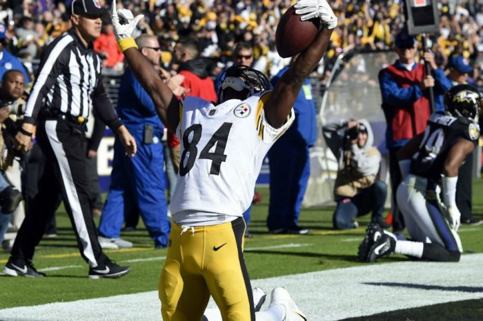 NFL Star Antonio Brown Cited for Going over 100 MPH in His Porsche