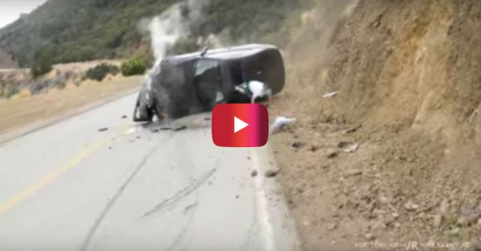 BMW Gets Absolutely WRECKED After This Driver's Costly Mistake