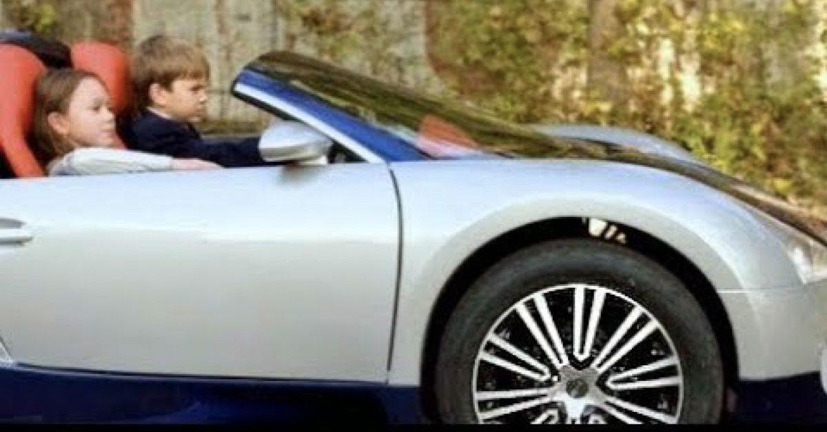 electric rideon car