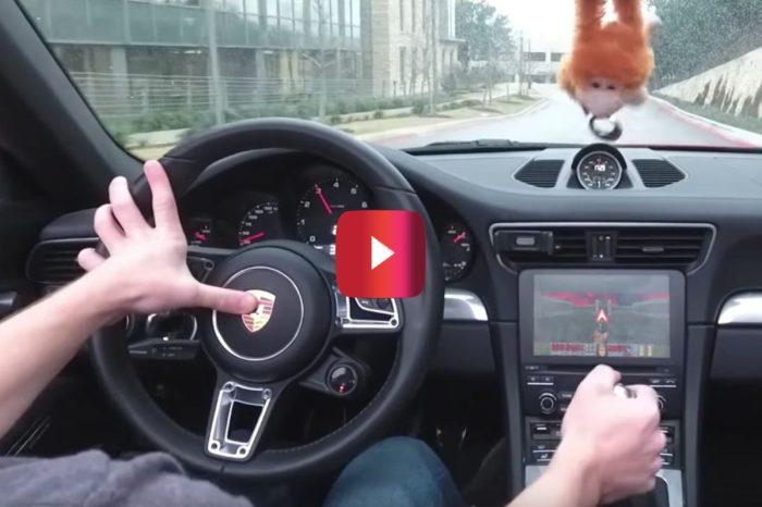 Man Customizes Porsche 911 to Play Video Games