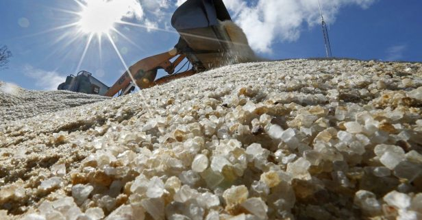 Folks Are Hoping for a Mild Winter as Road Salt Prices Increase