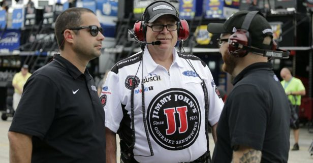 Crew Chief Tony Gibson Recovered from a Serious Health Scare to Have This Important NASCAR Championship Role