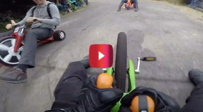 big wheel downhill racing