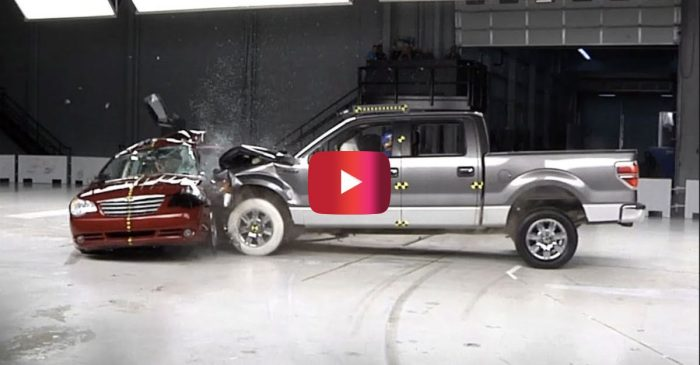 Crash Test Demonstration Shows What Happens When You Run a Red Light
