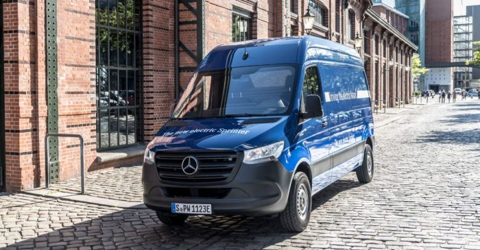 Tesla May be Teaming up with Mercedes, Daimler to Build an Electric Van