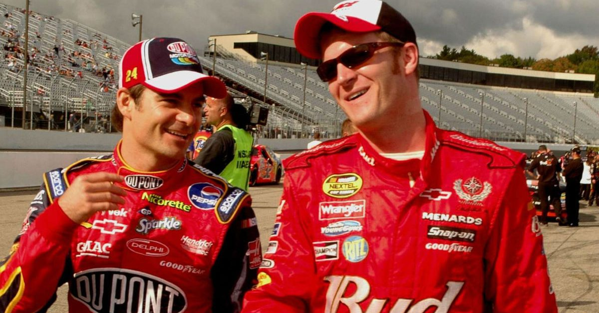 jeff gordon dale earnhardt jr