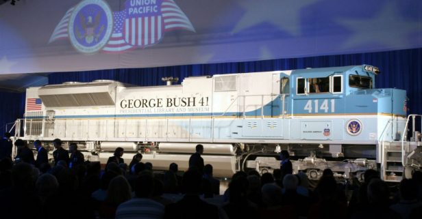 George H.W. Bush's Presidential Funeral Train Will Be the First in Almost 50 Years