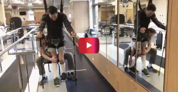 Video Shows Robert Wickens Learning to Walk Months After Devastating IndyCar Crash