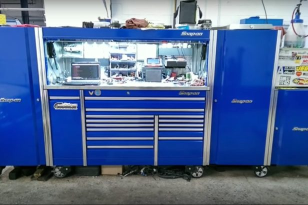 Most Gearheads Only Dream of the Snap-On Tool Box