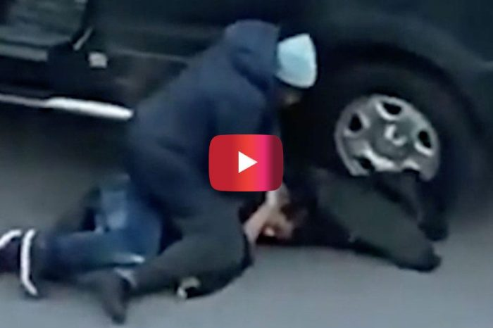 New York Woman Completely Overpowers Man Trying to Steal Her SUV
