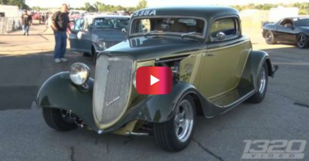 Old School Ford Coupe Gets an Incredible New School Upgrade