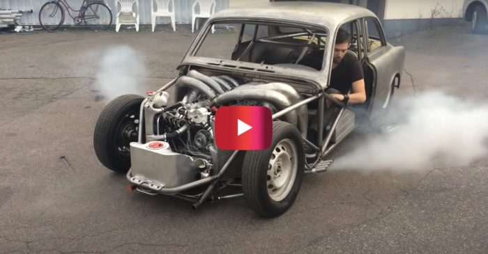 This Two-Stroke V8 Is a Homemade Monstrosity