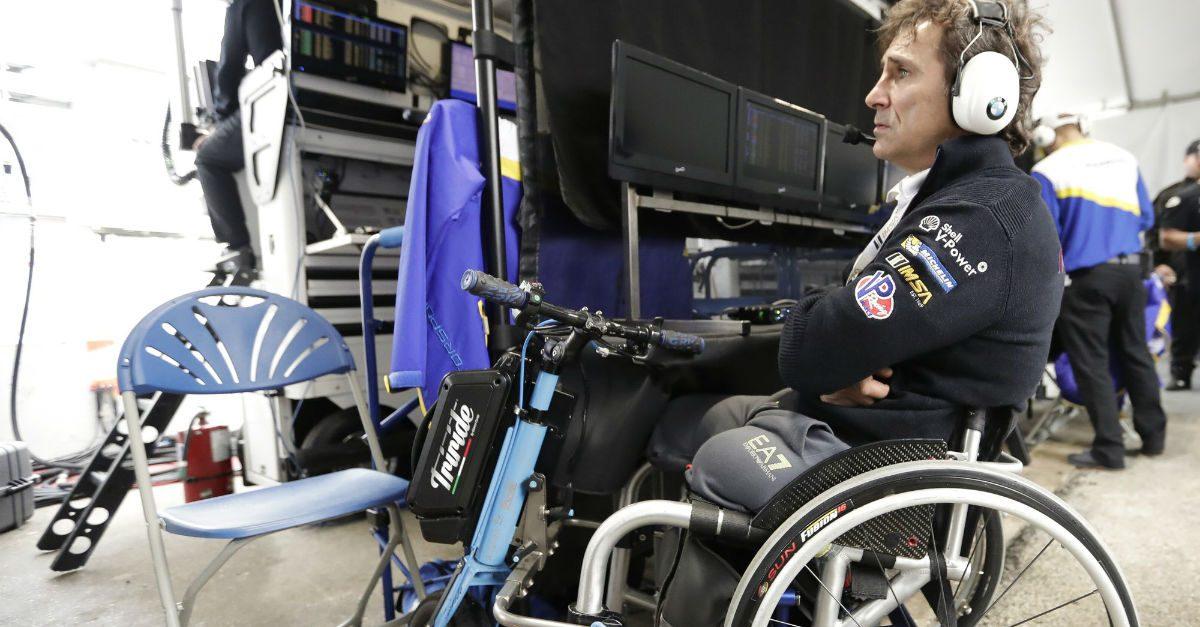 Years After Devastating Accident, Racer Alex Zanardi Still Inspires