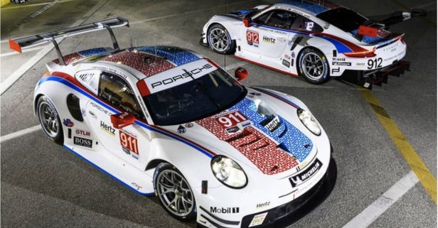 Porsche Debuts Throwback Brumos Racing Design and Paint Scheme for Daytona Race